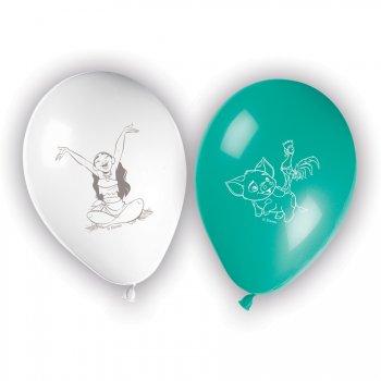 8 Ballons Vaiana et Maui