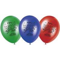 Contient : 1 x 8 Ballons Pyjamasques