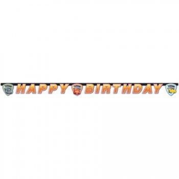 Guirlande Happy Birthday Cars 3