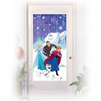Affiche de Porte Reine des Neiges Frozen