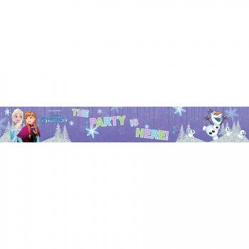 3 Bannières Reine des Neiges Frozen (90 cm)