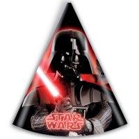 Contient : 1 x 6 Chapeaux Star Wars Empire