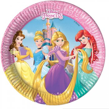 8 Petites Assiettes Princesses Disney Loving