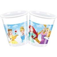 Contient : 1 x 8 Gobelets Princesses Disney Loving