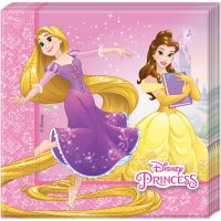 Contient : 1 x 20 Serviettes Princesses Disney Loving