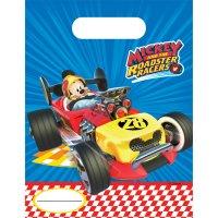 Contient : 1 x 6 Pochettes Cadeaux Mickey Racing