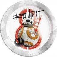 8 Assiettes Star Wars Last Jedi
