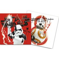 Contient : 1 x 20 Serviettes Star Wars Last Jedi
