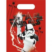 Contient : 1 x 6 Pochettes Cadeaux Star Wars Last Jedi