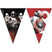Guirlande Fanions Star Wars Last Jedi (2,30 m) - Plastique