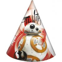 Contient : 1 x 6 Chapeaux Star Wars Last Jedi