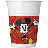 Contient : 1 x 8 Gobelets Mickey Super Cool