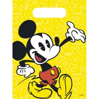Contient : 1 x 6 Pochettes Cadeaux Mickey Super Cool