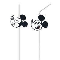 Contient : 1 x 6 Pailles Médaillon Mickey Super Cool