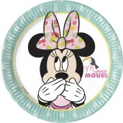 8 Petites Assiettes Minnie Tropical