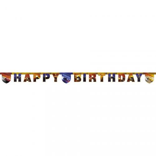 Guirlande Happy Birthday Cars Legend (2 m)