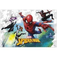 Contient : 1 x Nappe Spiderman Team