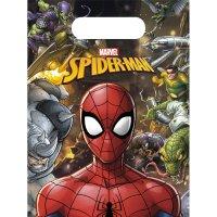 Contient : 1 x 6 Pochettes Cadeaux Spiderman Team