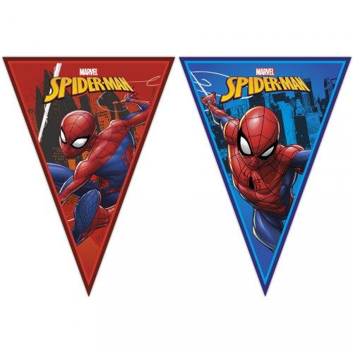 Guirlande Fanions Spiderman Team