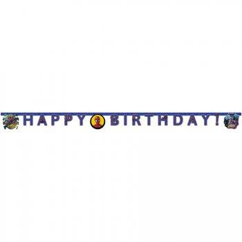 Guirlande Happy Birthday Spiderman Team (2 m)
