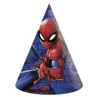 Contient : 1 x 6 Chapeaux Spiderman Team
