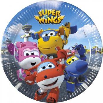 8 Petites Assiettes Super Wings