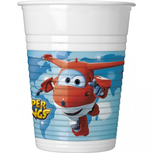 8 Gobelets Super Wings