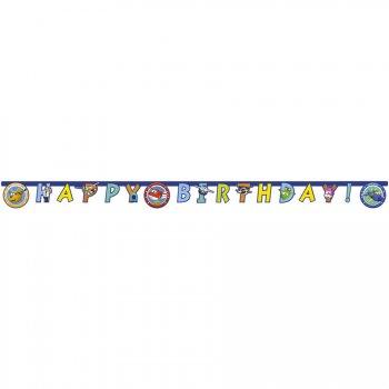 Guirlande Happy Birthday Super Wings