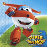 Contient : 1 x 2 Serviettes Super Wings