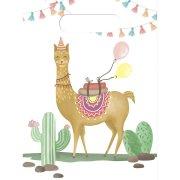 6 Pochettes Cadeaux Lama Birthday