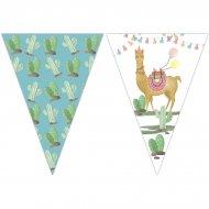 Guirlande Fanions Lama Birthday