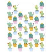6 Pochettes Cadeaux Cactus Kawaïï
