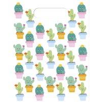 Contient : 1 x 6 Pochettes Cadeaux Cactus Kawaïï