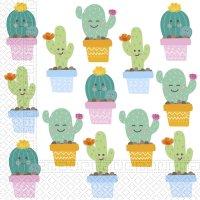 Contient : 1 x 2 Serviettes Cactus Kawaïï