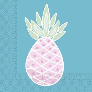 20 Serviettes Sweet Ananas