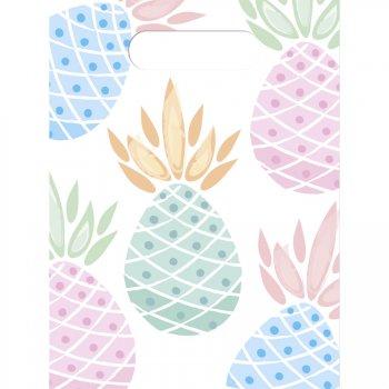 6 Pochettes Cadeaux Sweet Ananas