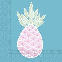 Contient : 1 x 2 Serviettes Sweet Ananas
