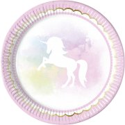 8 Assiettes Licorne Dream