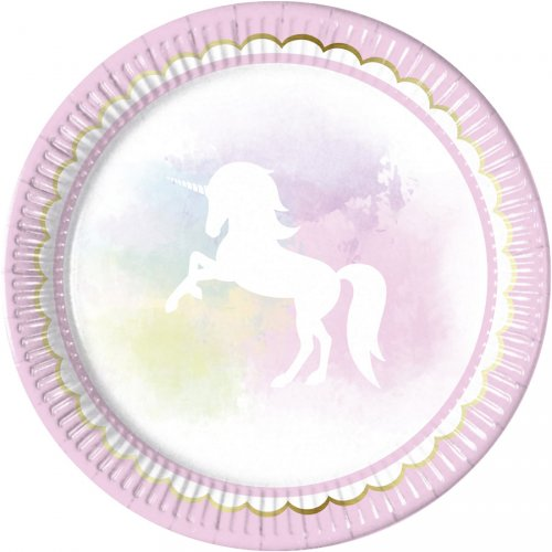 8 Assiettes Licorne Dream
