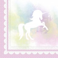 20 Serviettes Licorne dream