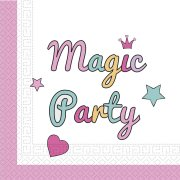 20 Serviettes Licorne Magic Party