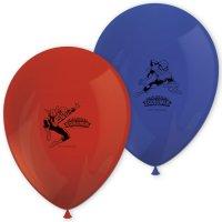 Contient : 1 x 8 Ballons Spiderman Team