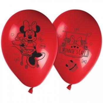 8 Ballons Minnie Café