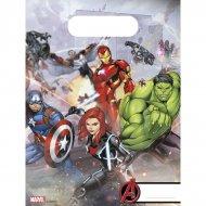 6 Pochettes Cadeaux Avengers