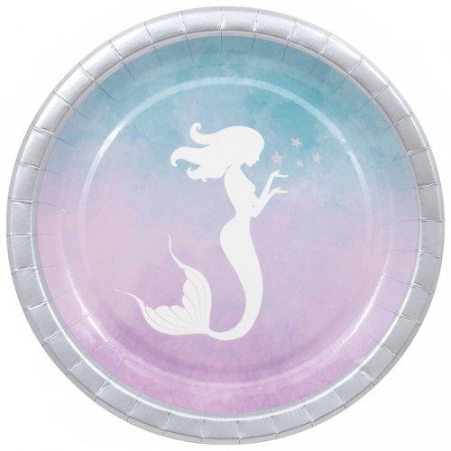 8 Assiettes Merveilleuse Sirène