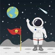 20 Serviettes Dans l'Espace
