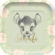 4 Assiettes Bambi