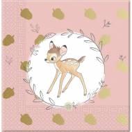 20 Serviettes Bambi