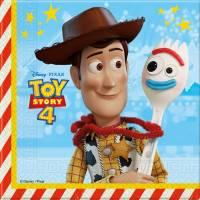 Contient : 1 x 20 Serviettes Toy Story 4