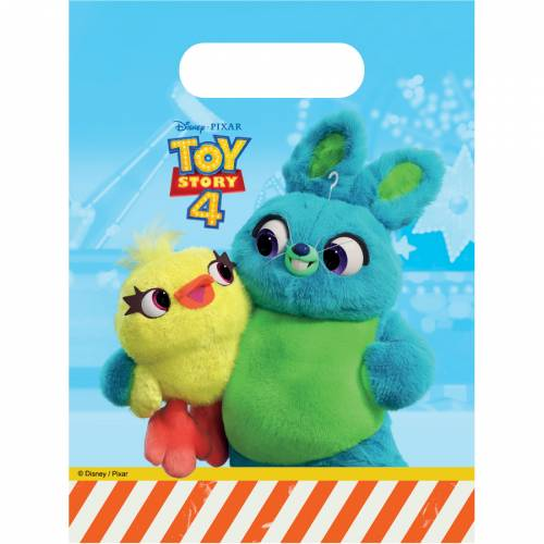 6 Pochettes Cadeaux Toy Story 4